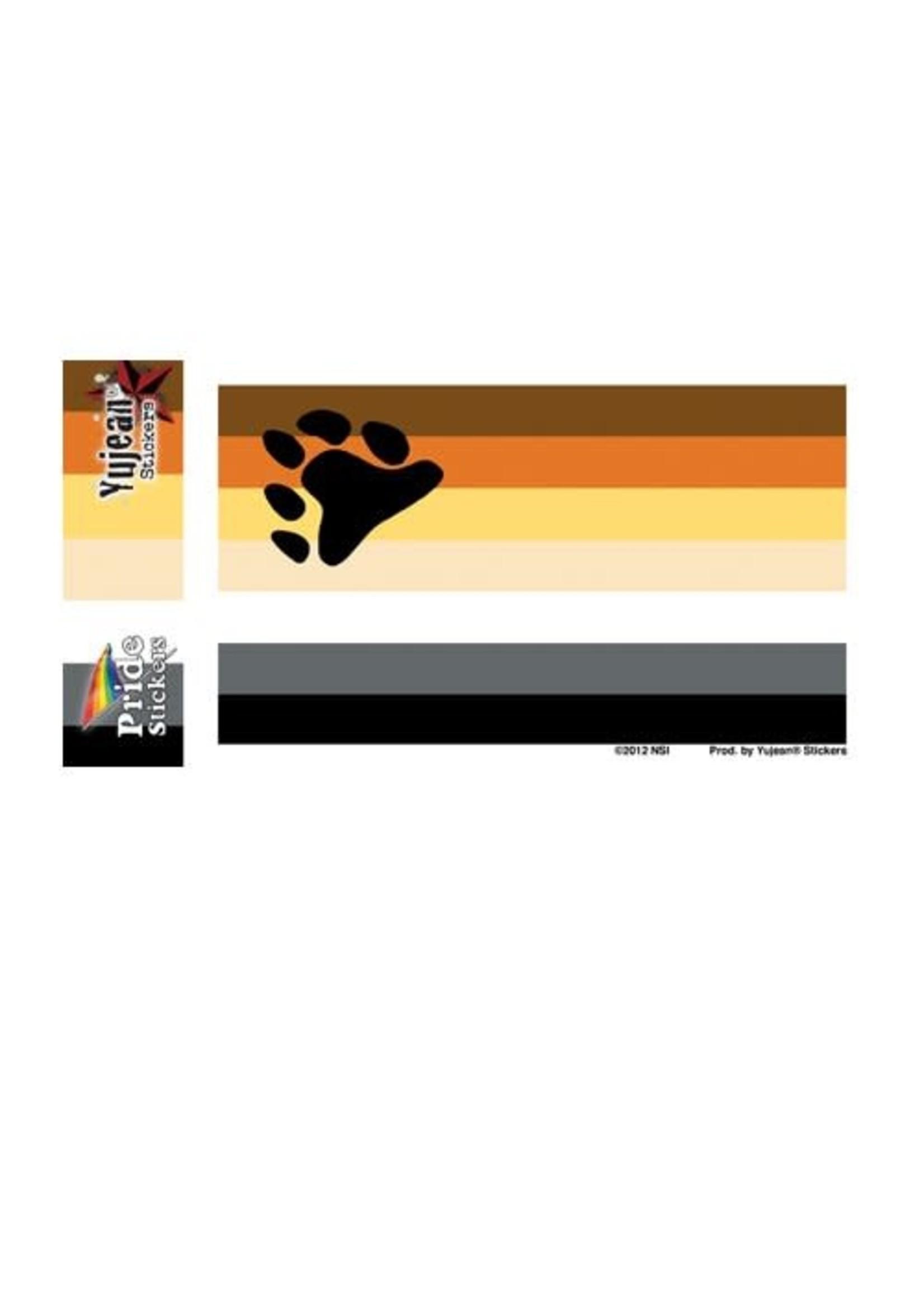 "Bear Flag Sticker 5"" x 3.75"" (NS)"
