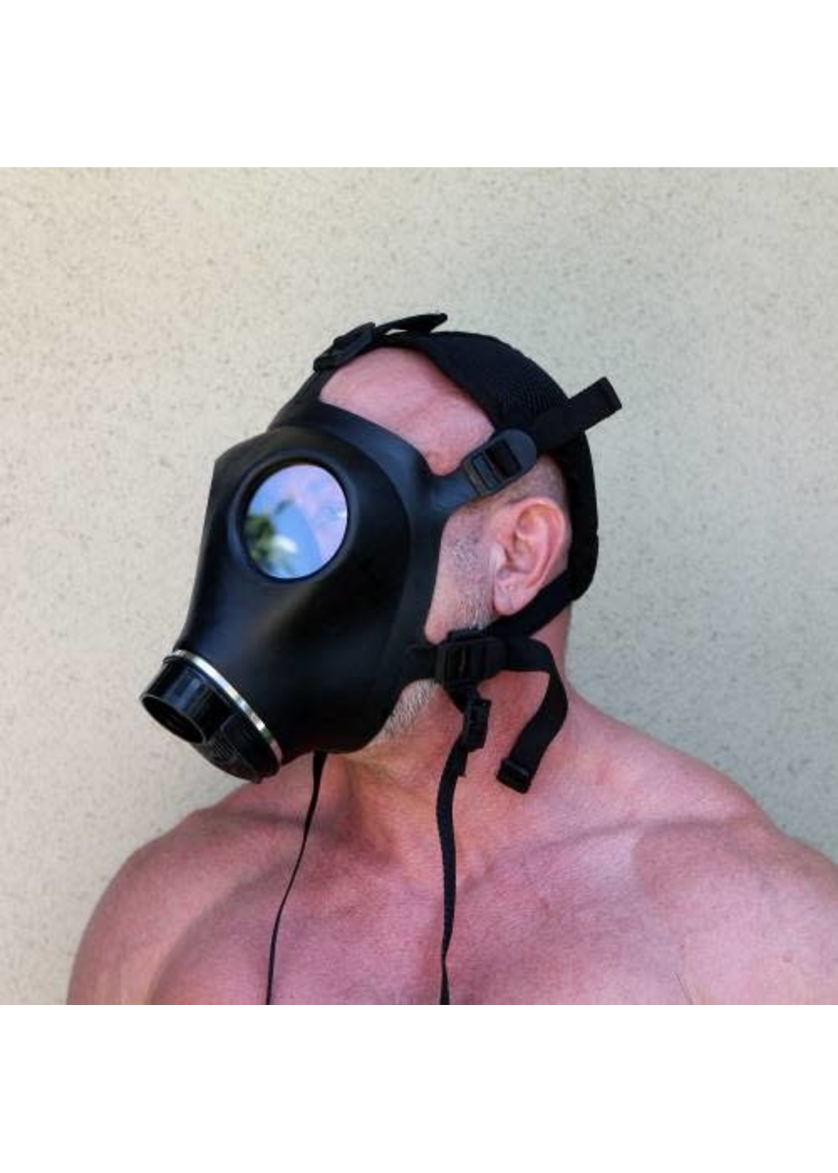 665 Leather 665 Gas Mask