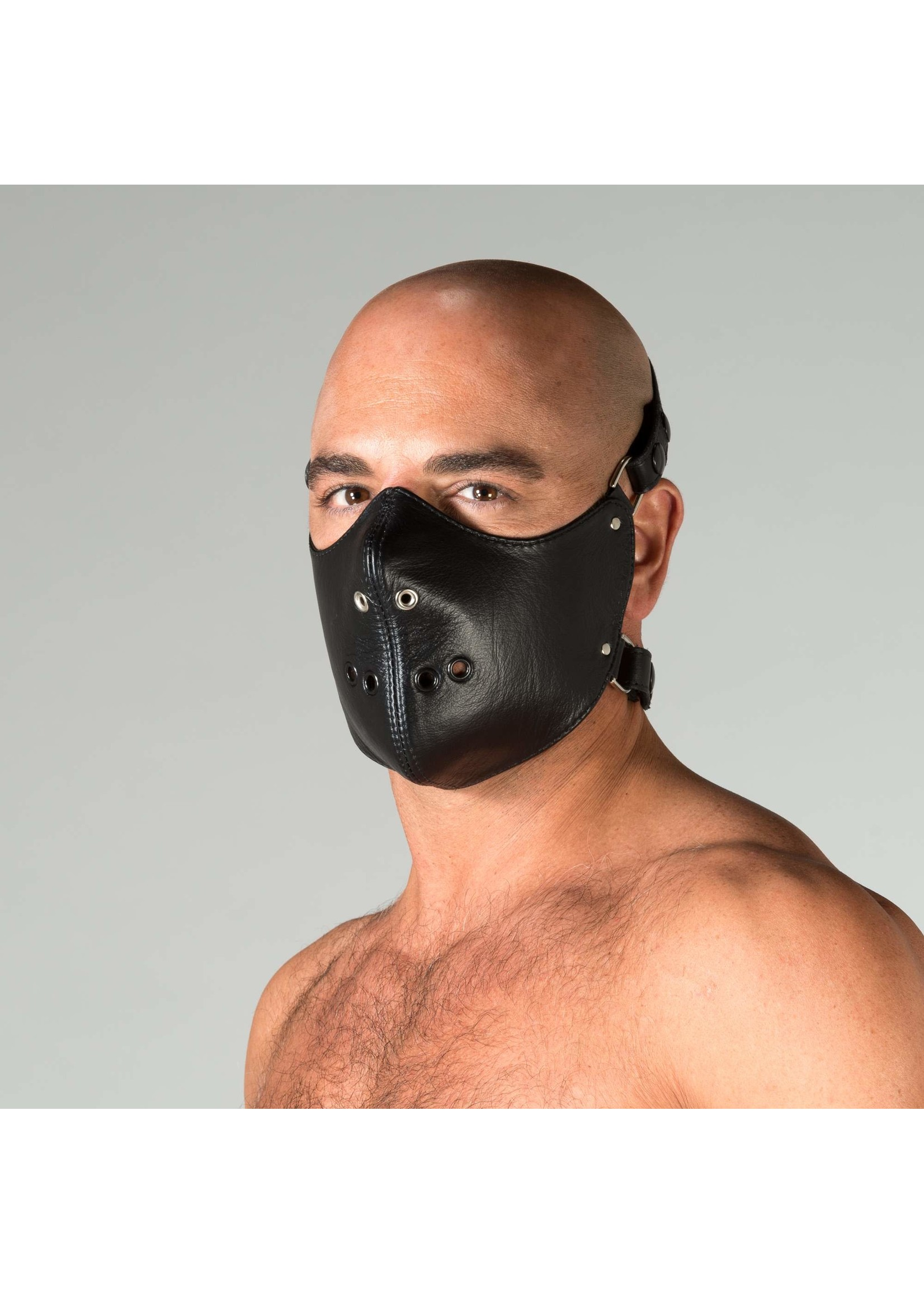 665 Leather 665 Mouth Restrictor Deluxe