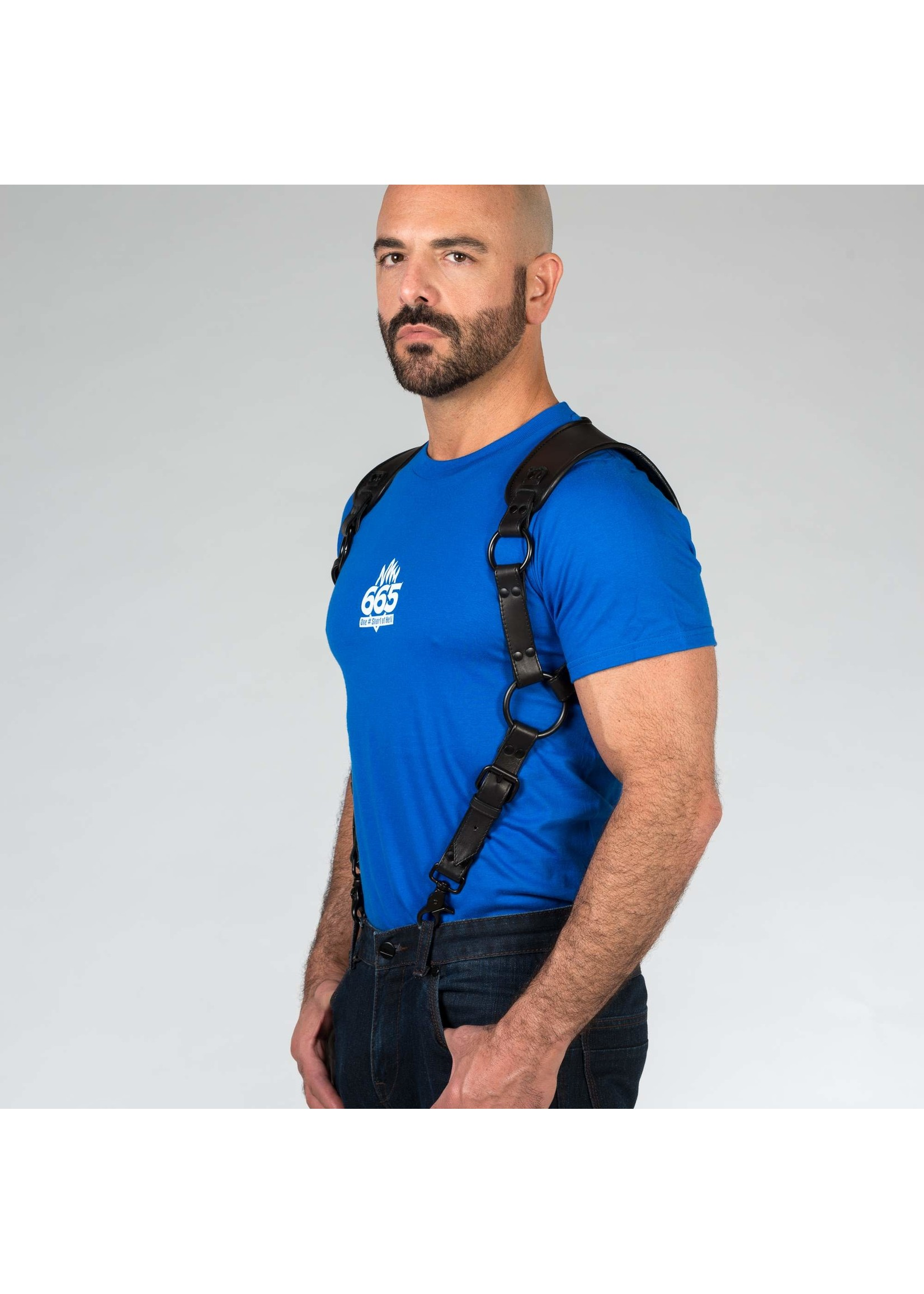 665 Leather 665 Leather Carpenter Harness