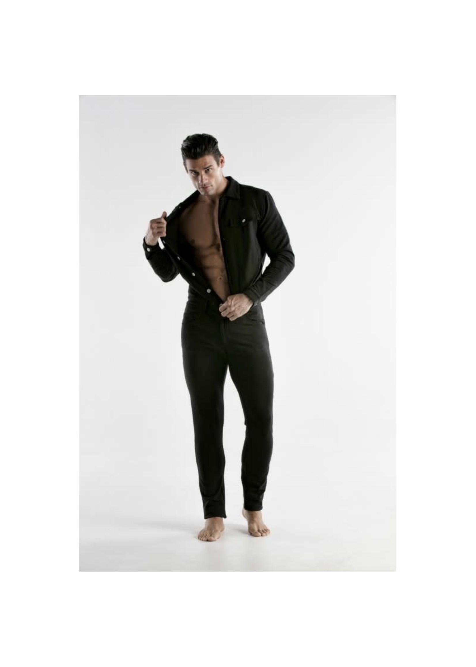 665 Leather Code 22 Jumpsuit