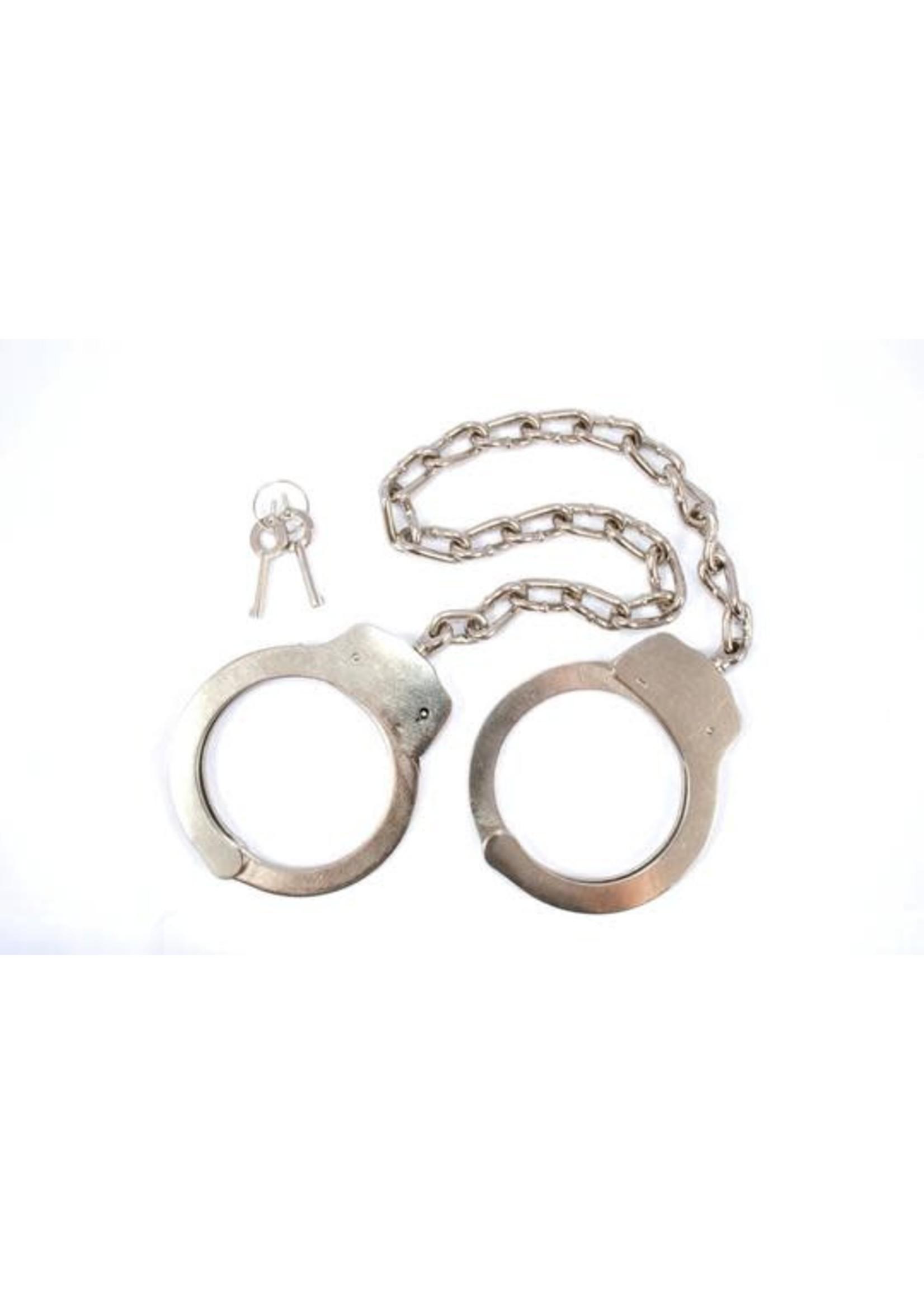 """Leg Cuffs with 16"""" Chain"""