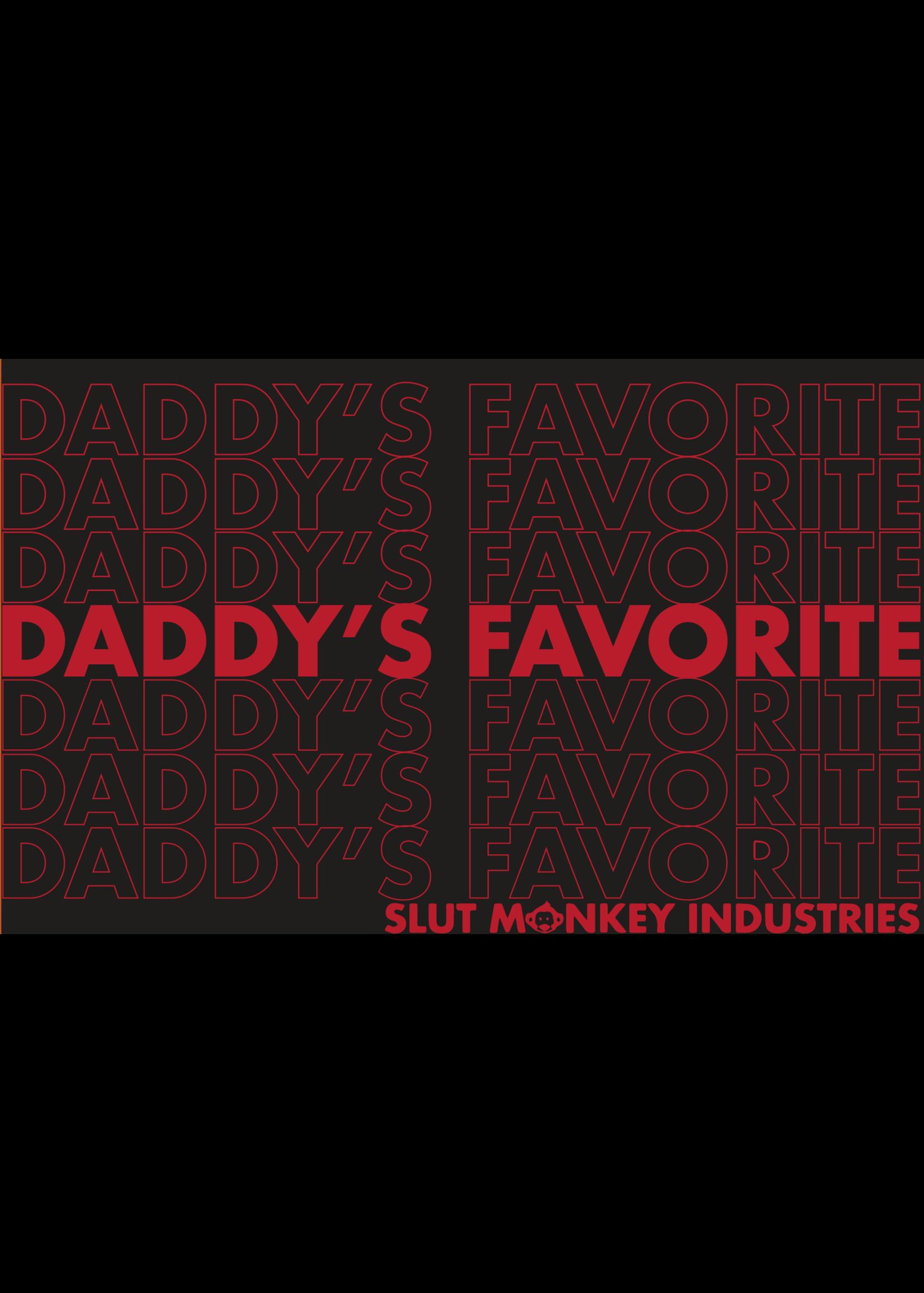 Slut Monkey Slut Monkey Daddy's Favorite Muscle Tee