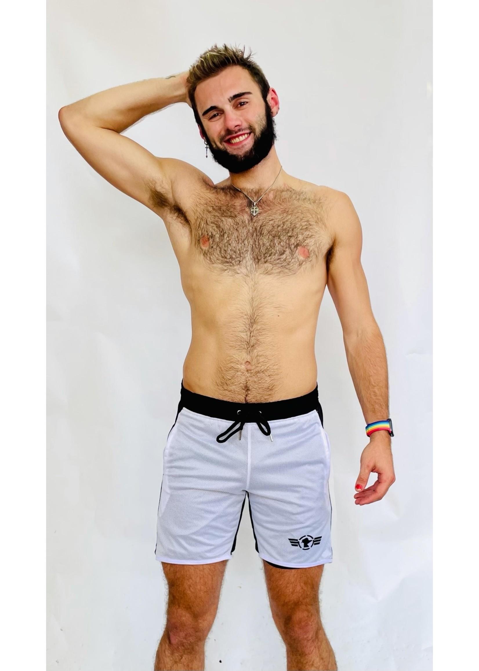 Sir Rat Sir Rat Reversible Shorts
