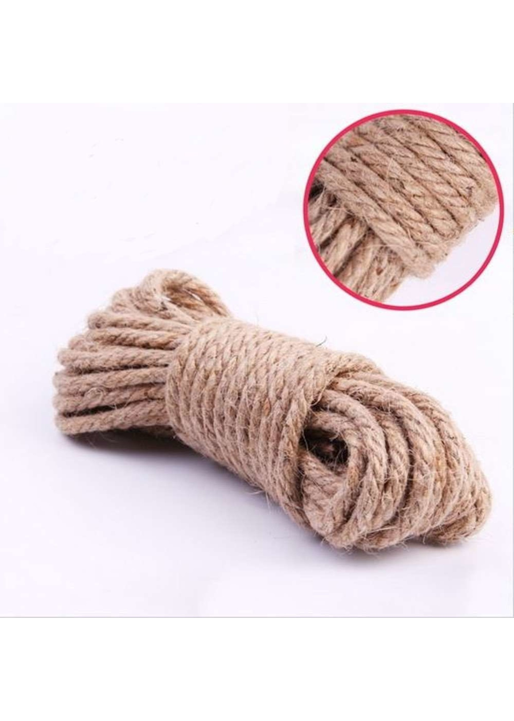 665 Leather 665 Natural Hemp Rope