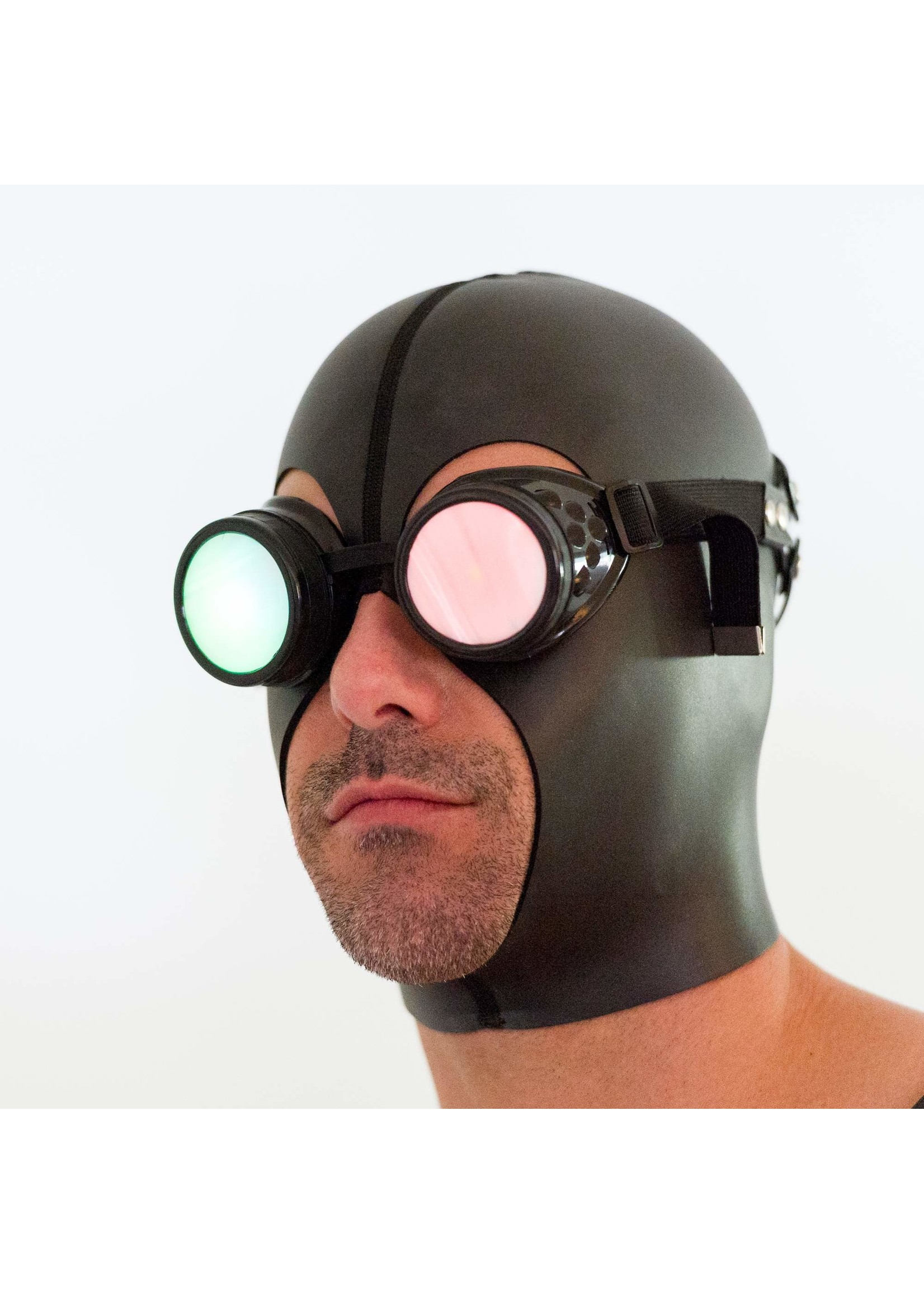 665 Leather 665 Mind Fuck Blindfold Goggles