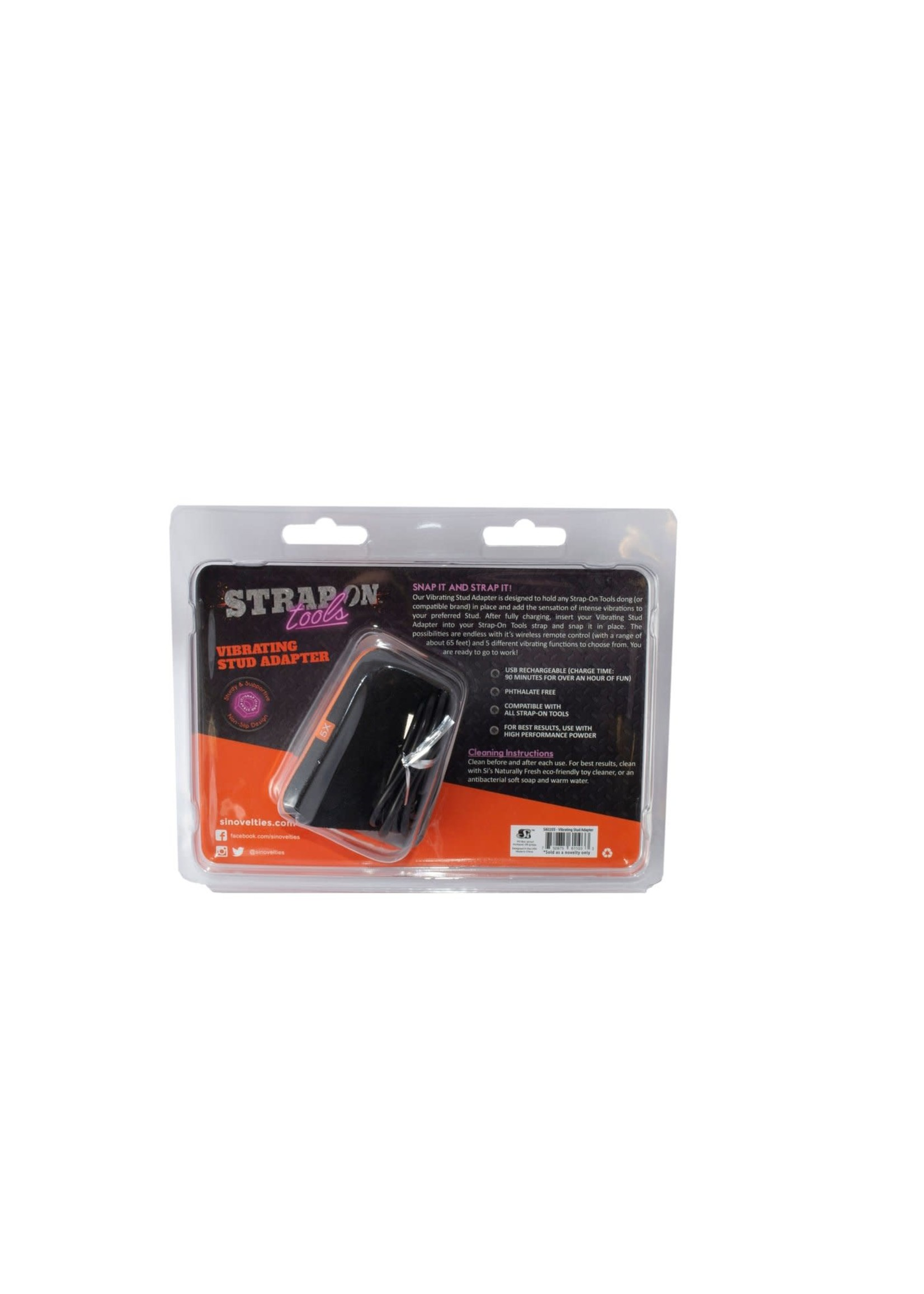 Strap-On Tools Strap-On Tools Vibrating Stud Adapter