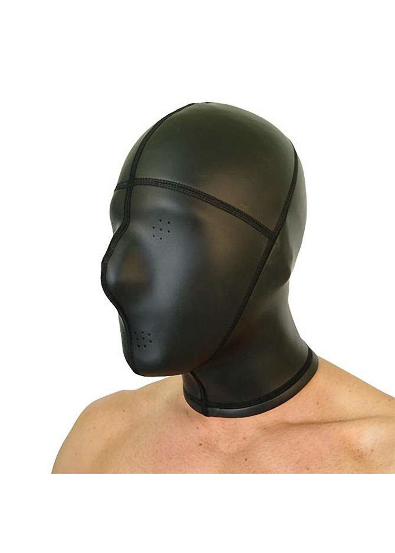 665 Leather 665 Neoprene Panel Hood with Pinhole Eyes and Mouth