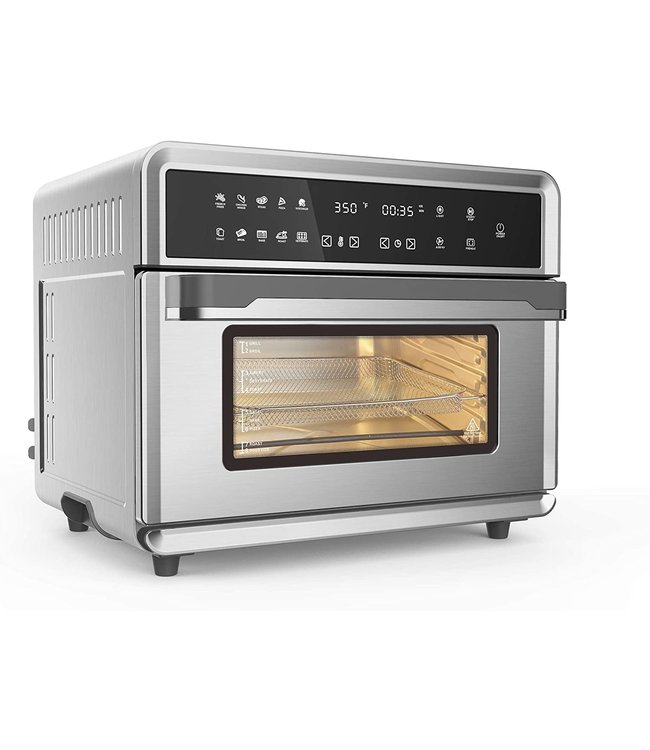 Caso Air Fryer and Toaster Oven Stainless Steel