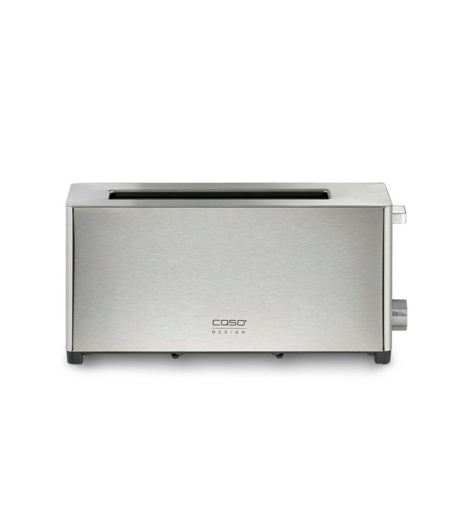 Caso T2 Wide Slot Toaster Stainless Steel