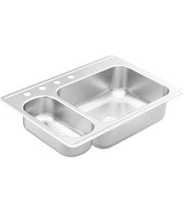 MOEN Moen 2000 Series Kitchen Sink Stainless Steel