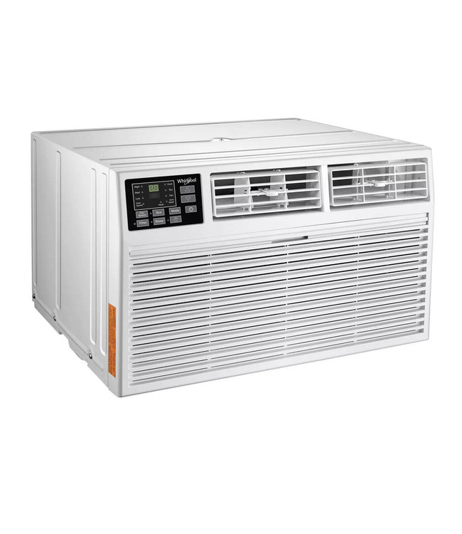WHIRLPOOL Whirlpool 10,000 BTU Through the Wall Air Conditioner with Heat White