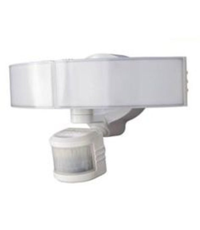 Defiant 180° LED Motion Outdoor Security Light White