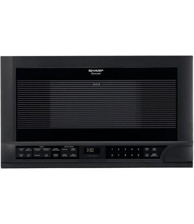 SHARP Sharp 1.5 cu. ft. Countertop Microwave Black