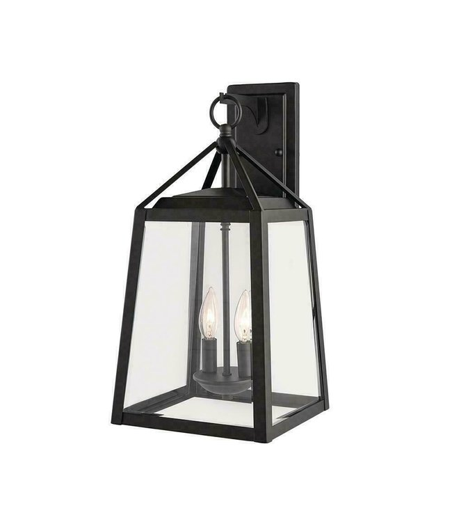 Home Decorations Collection Blakeley Outdoor Wall Lantern Black