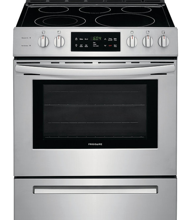 FRIGIDAIRE Frigidaire 30 in. 5.0 cu. ft. Single Oven Electric Range Stainless Steel