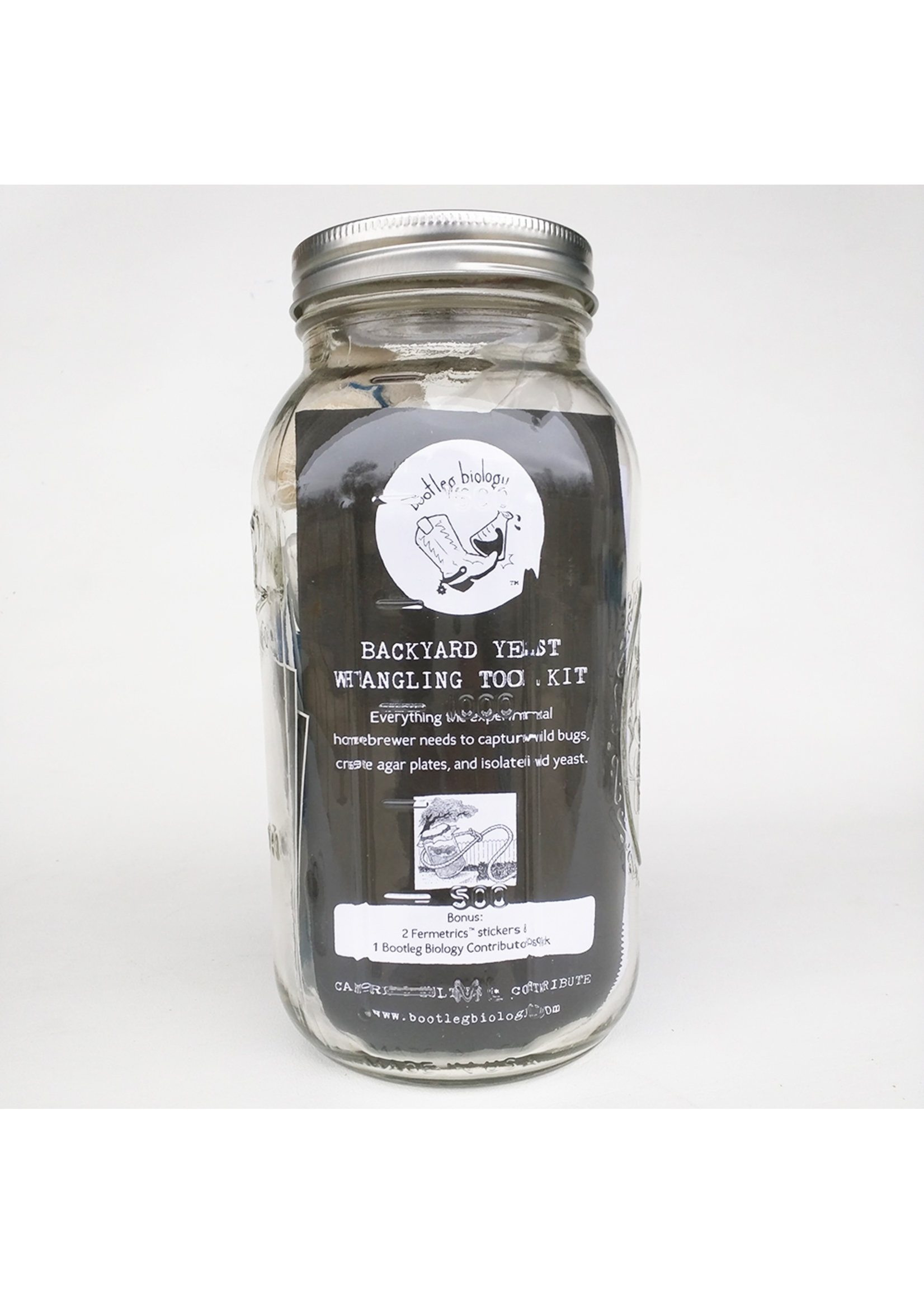 Yeast Bootleg Biology Backyard Yeast Wrangling Tool Kit