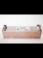 Brewing Beer Wort Chiller - 30 Plate Chiller (Long) w/ Garden Hose Adapter