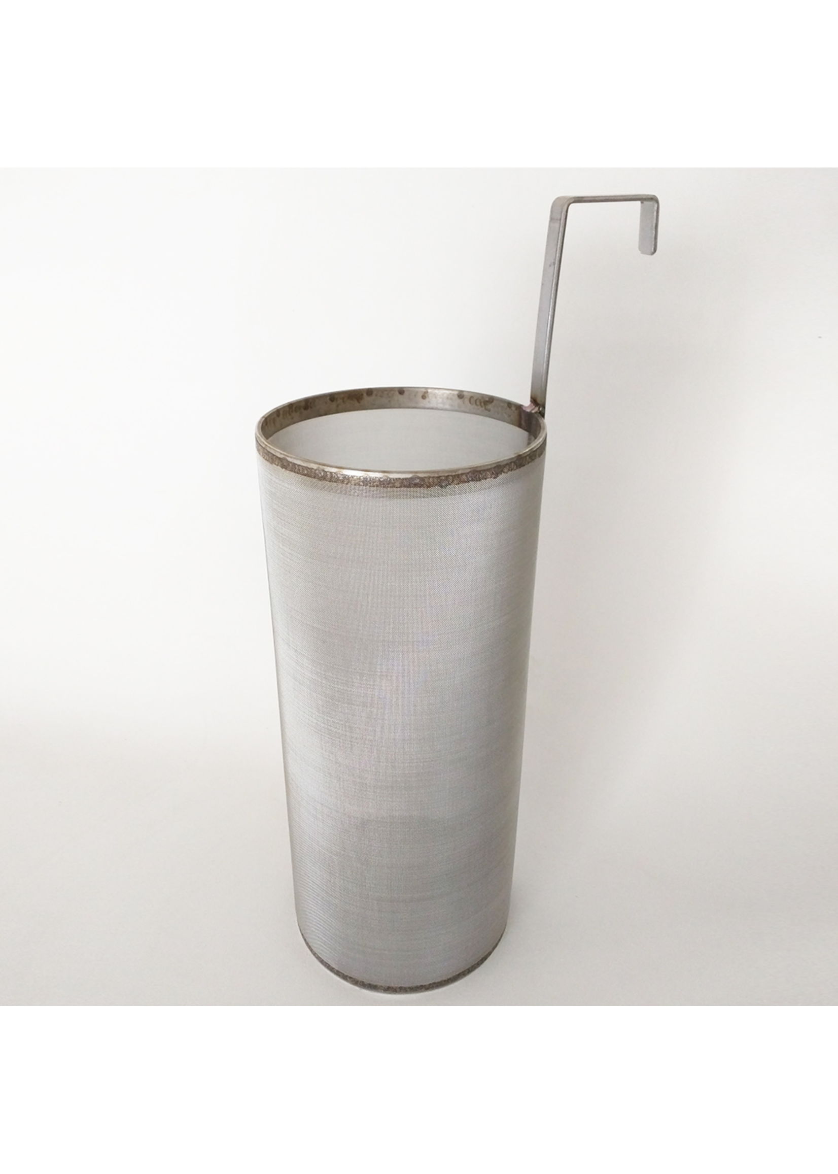 """Brewing 6"""" x 14"""" Brew Filter 300 Micron Stainless Steel Mesh For Keggles Outside Hook"""