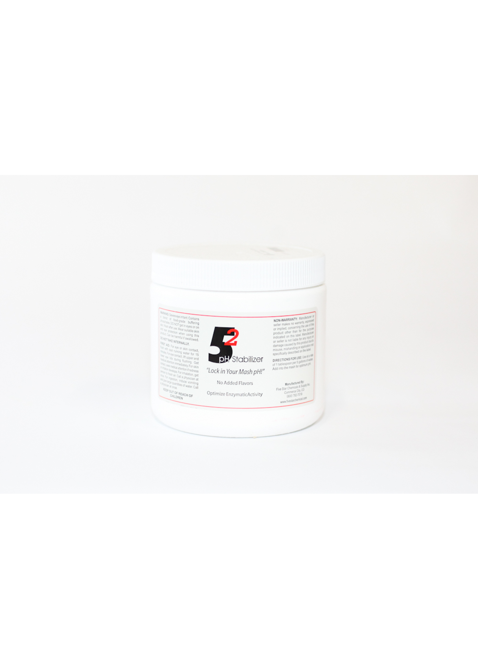Chemicals Five Star - 5.2 pH Mash Stabilizer - 1 LB
