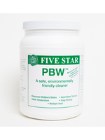 Chemicals Cleanser - Five Star - Powdered Brewery Wash (PBW) - 4 LB