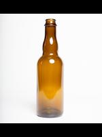 Racking/Bottling Bottles, Beer - 375 ml Belgian Vinny Pry Crown or Cork & Cage Finish - Amber (12/case)