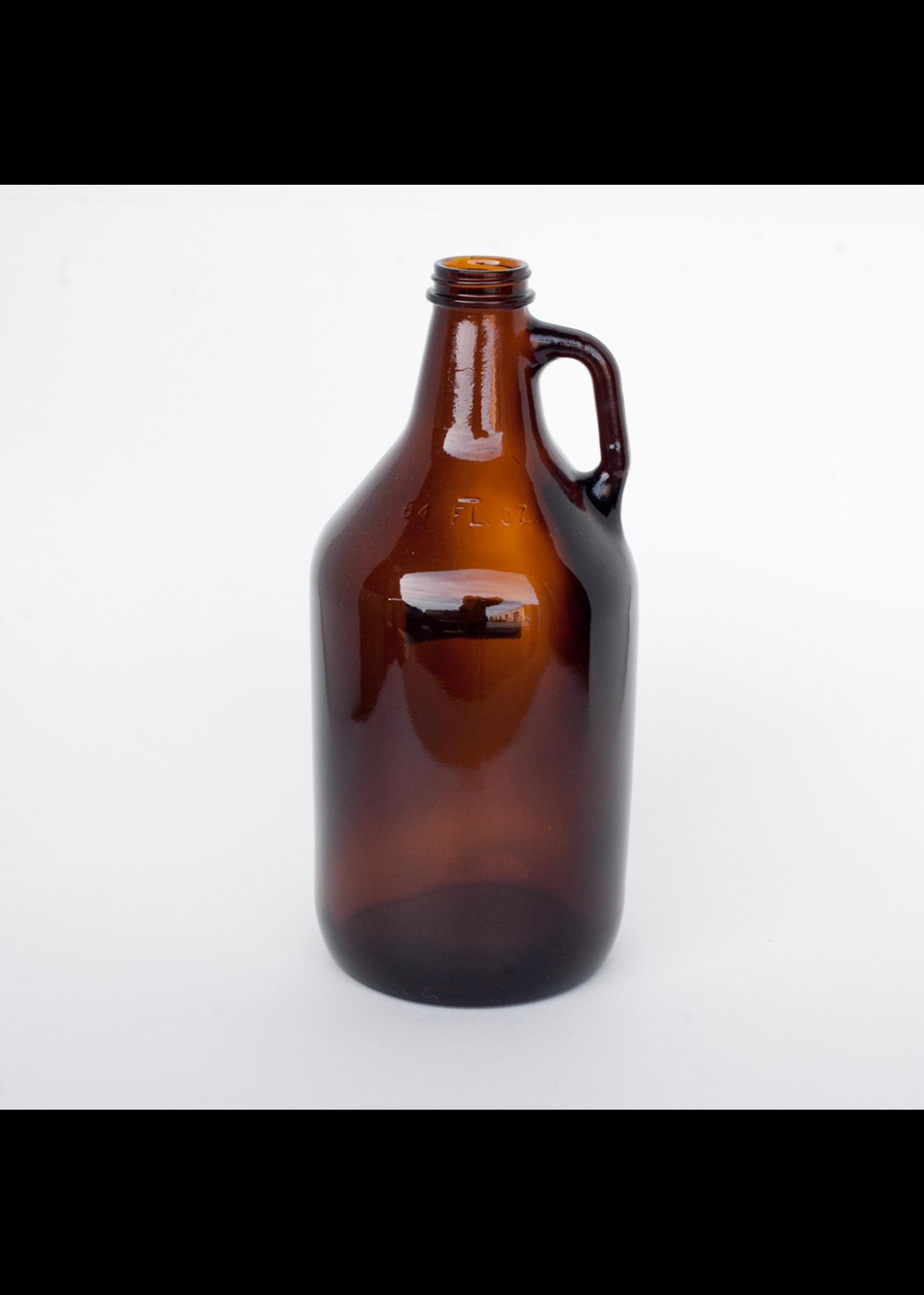 Racking/Bottling Glass Jug - Amber 1/2 Gallon Growler (1/each)