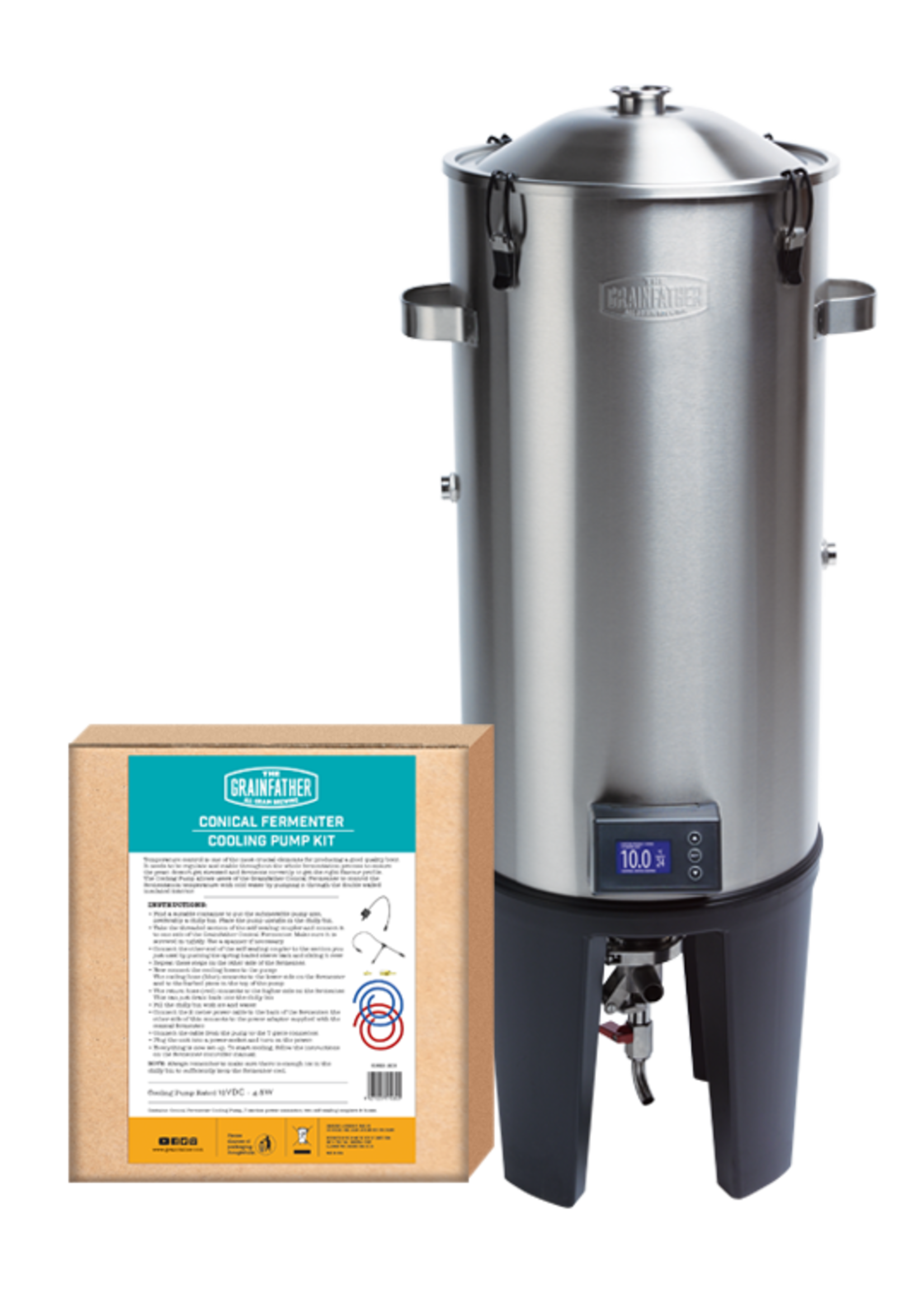 Fermentation The Grainfather - Conical Fermenter Basic Cooling Edition
