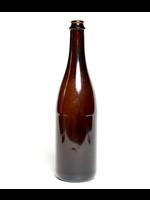 Racking/Bottling Bottles, Beer - 750 ml Belgian Celebration Crown or Cork & Cage Finish - Amber (12/case)