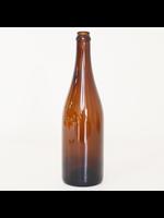 Racking/Bottling Bottles, Beer - 750 ml Sparkling AM - Amber (12/case)