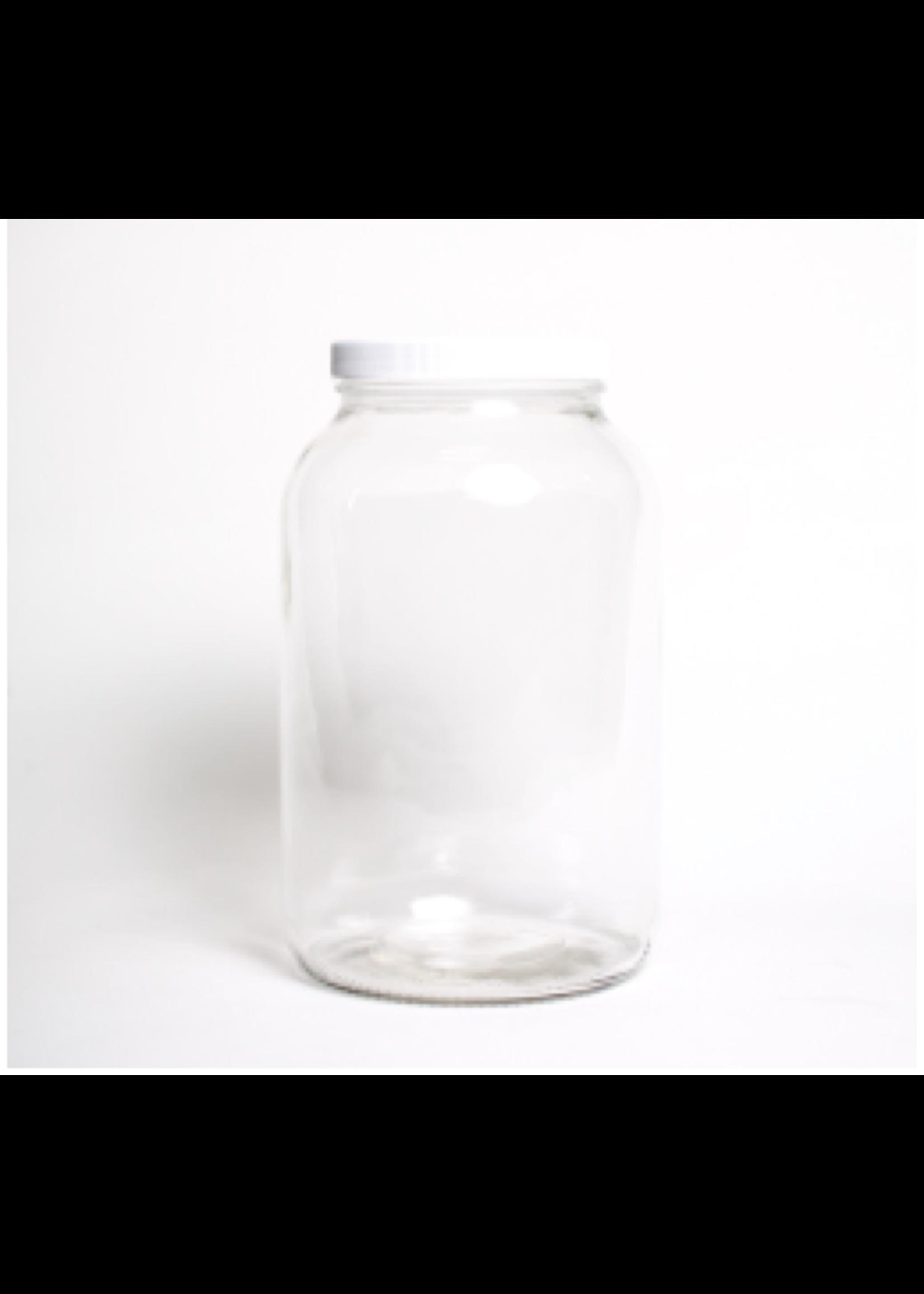 Fermentation One Gallon Fermentation Glass Jar w/ Plastic Lid
