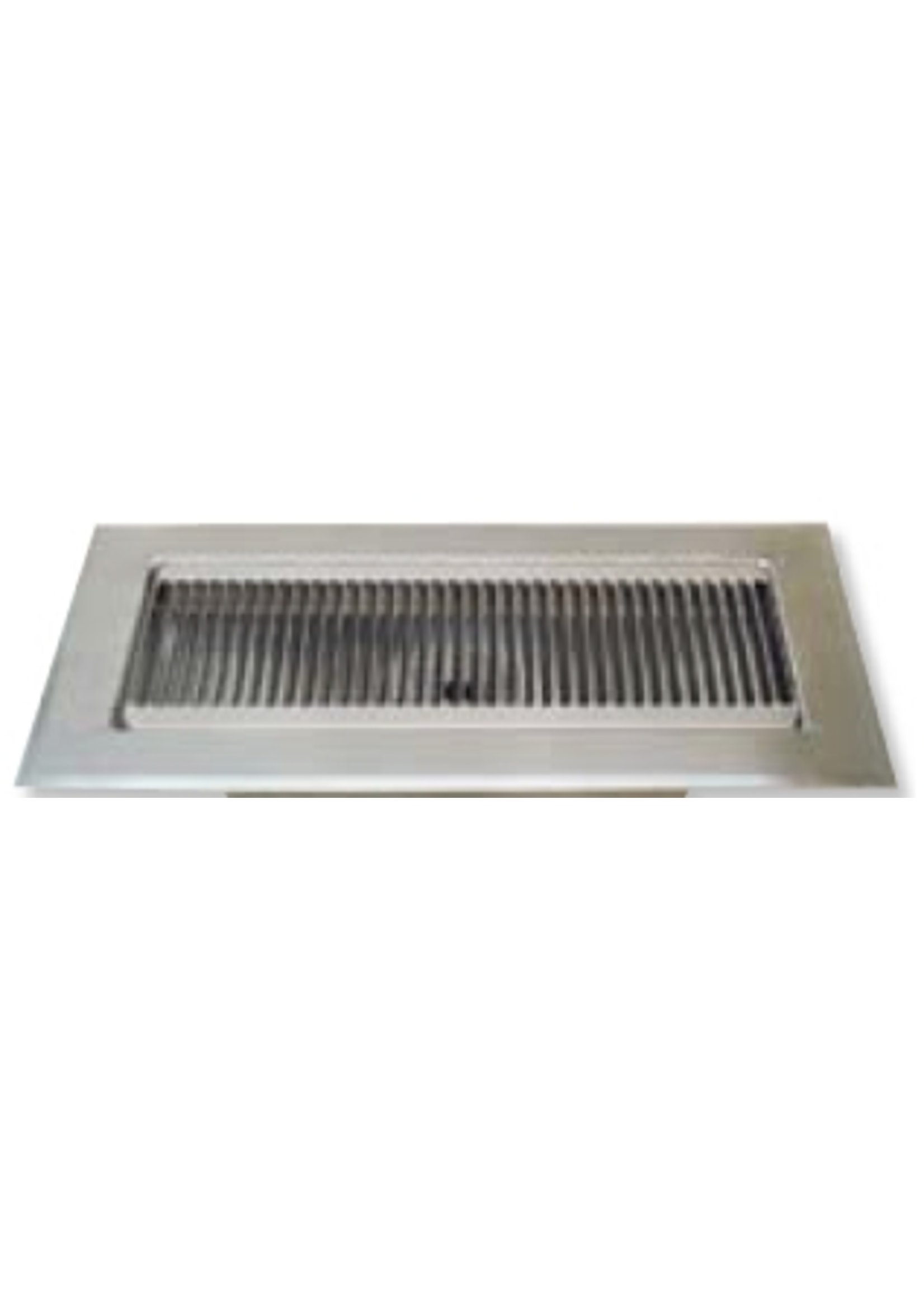 """Kegging Flush Mount Stainless Steel Drip Tray - 12"""" x 5.25"""" x 1.5"""" Flanged"""