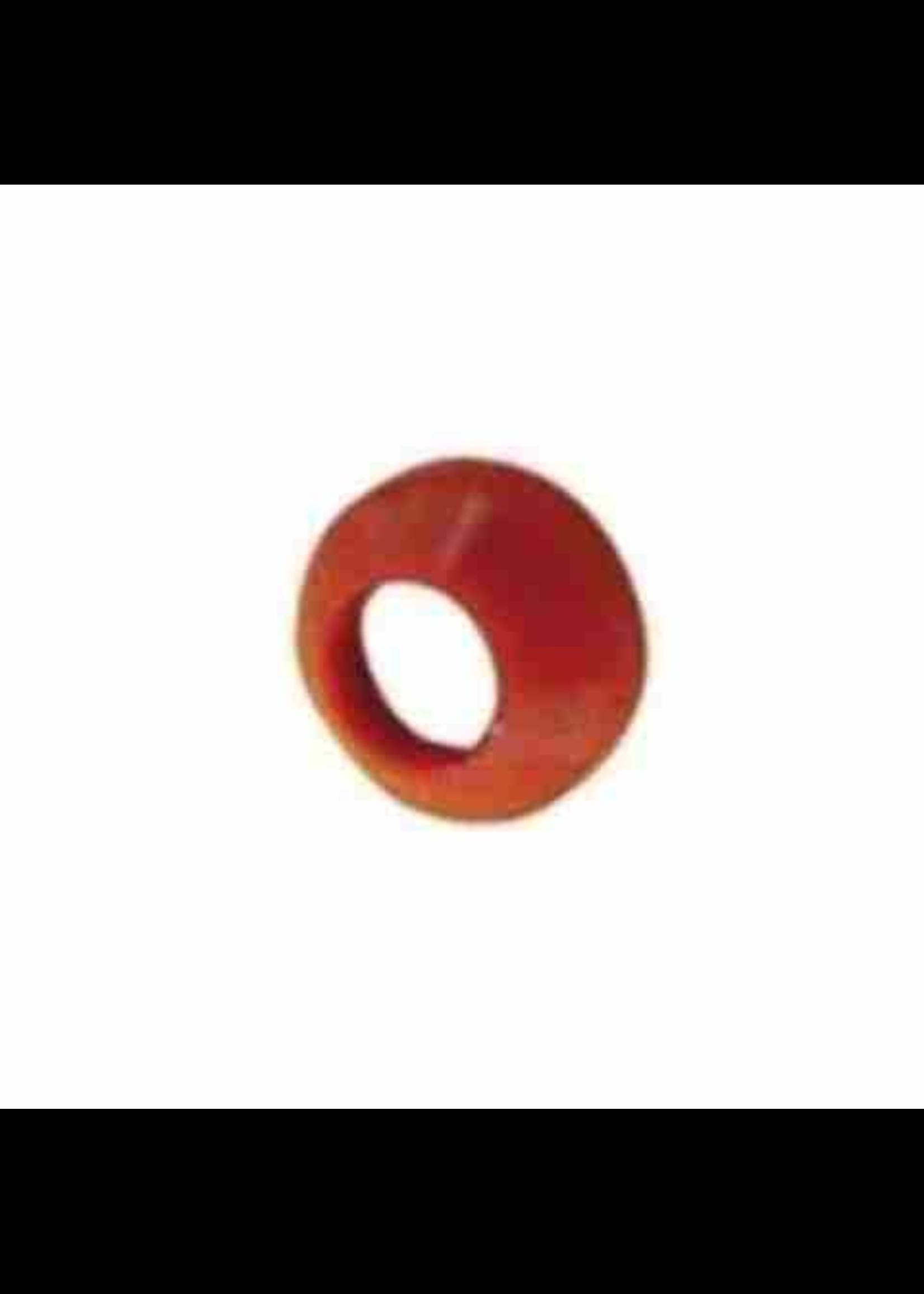 """Kegging Flare Washer - 1/2"""", Red Nylon #D21.5 NLG"""