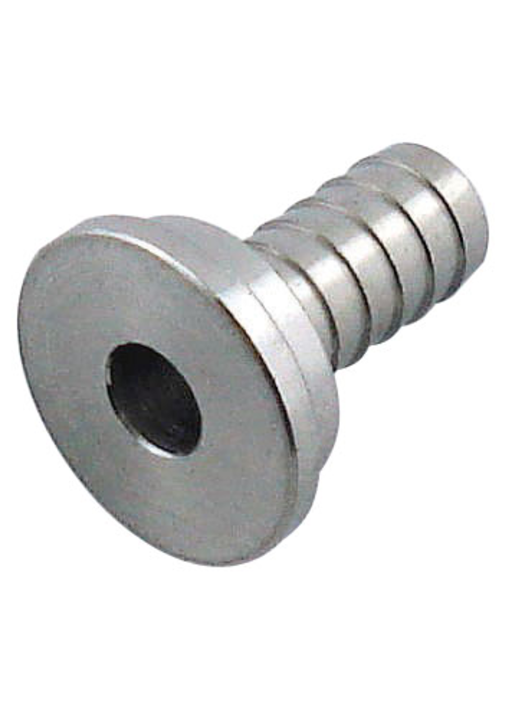 """Kegging Tailpiece - 5/16"""" Barb - Stainless Steel - #F03"""