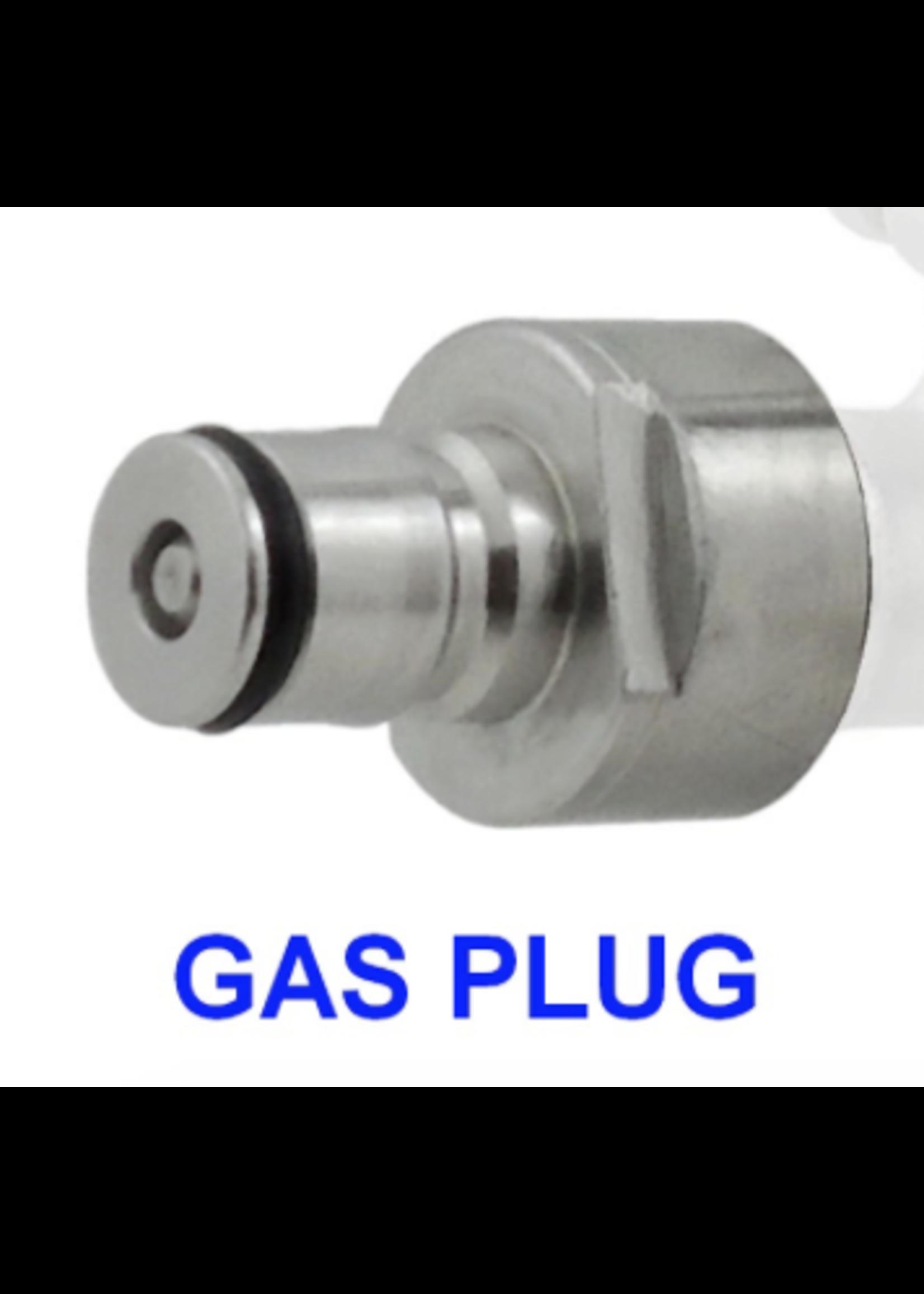 Kegging Keg Coupler Conversion Plug  - Ball Lock - Gas - #B05