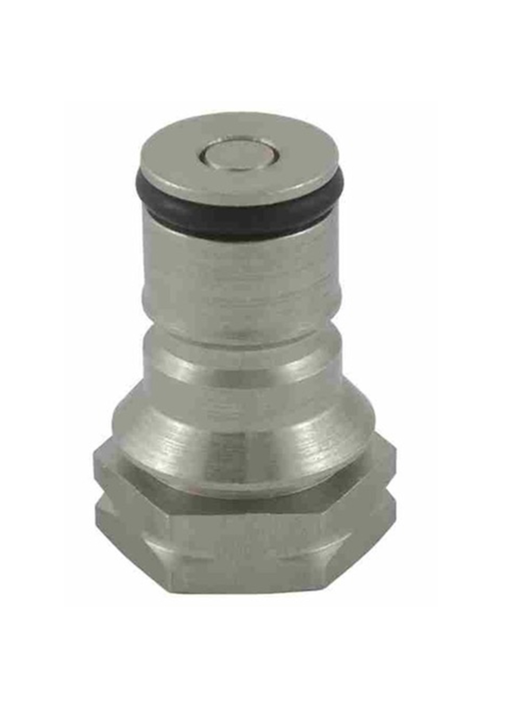 Kegging Ball Lock Post, A.E.B. - Gas (with poppet) - #B21