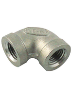 """Fittings Stainless Steel Elbow - 1/2"""" FPT x 1/2"""" FPT - #D09"""
