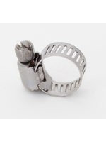 """Fittings Ideal Stainless Steel Hose Clamp - 1/8""""-1/2"""" - #A01"""
