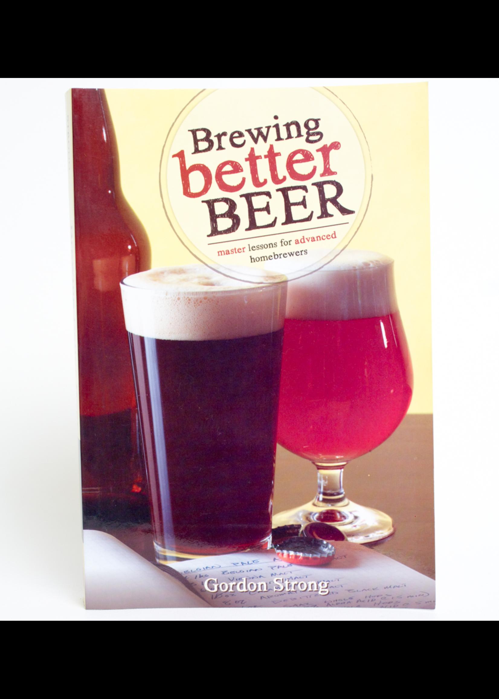 Books Brewing Better Beer (Gordon Strong)