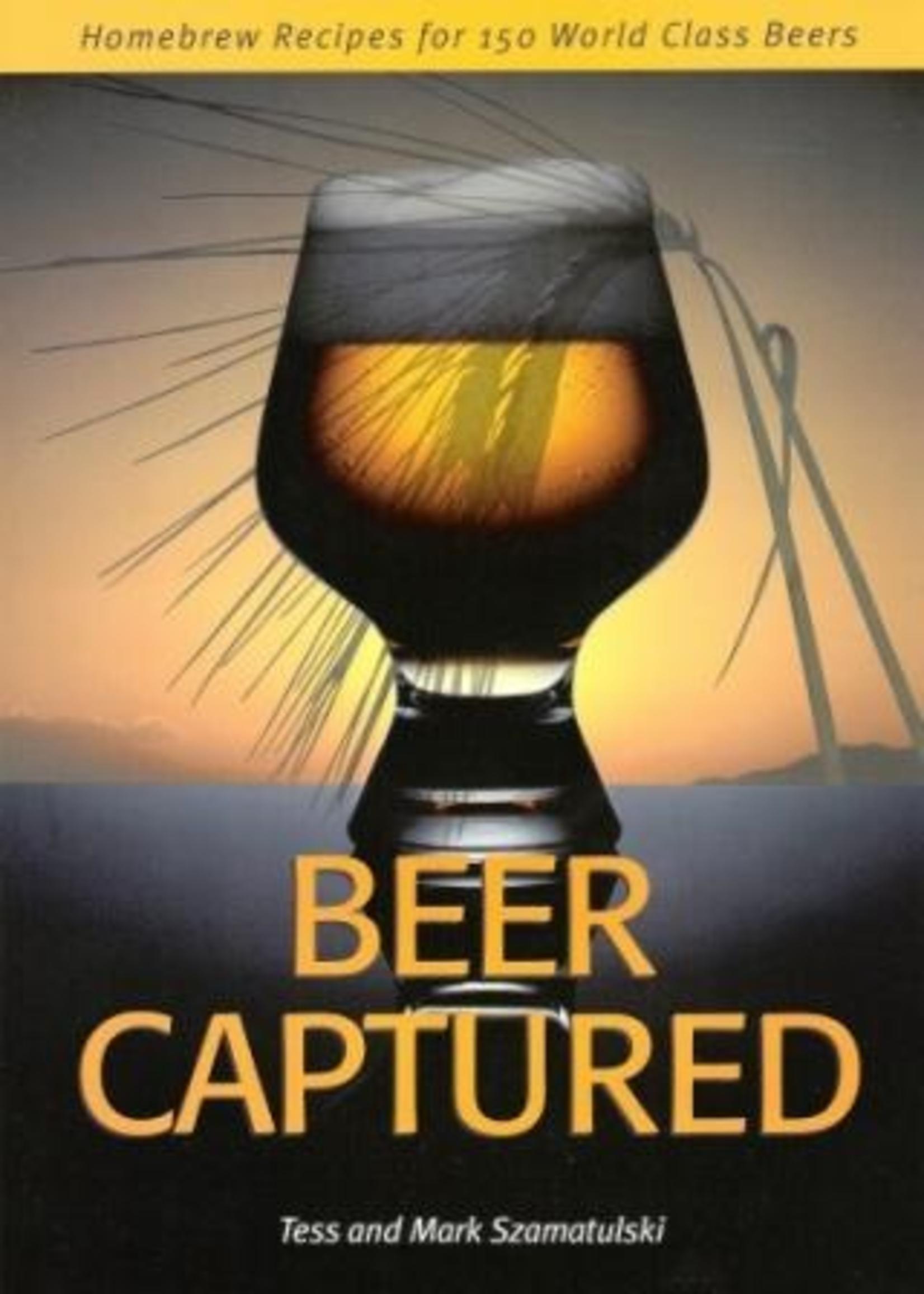 Books Beer Captured (Tess and Mark Szamatulski)