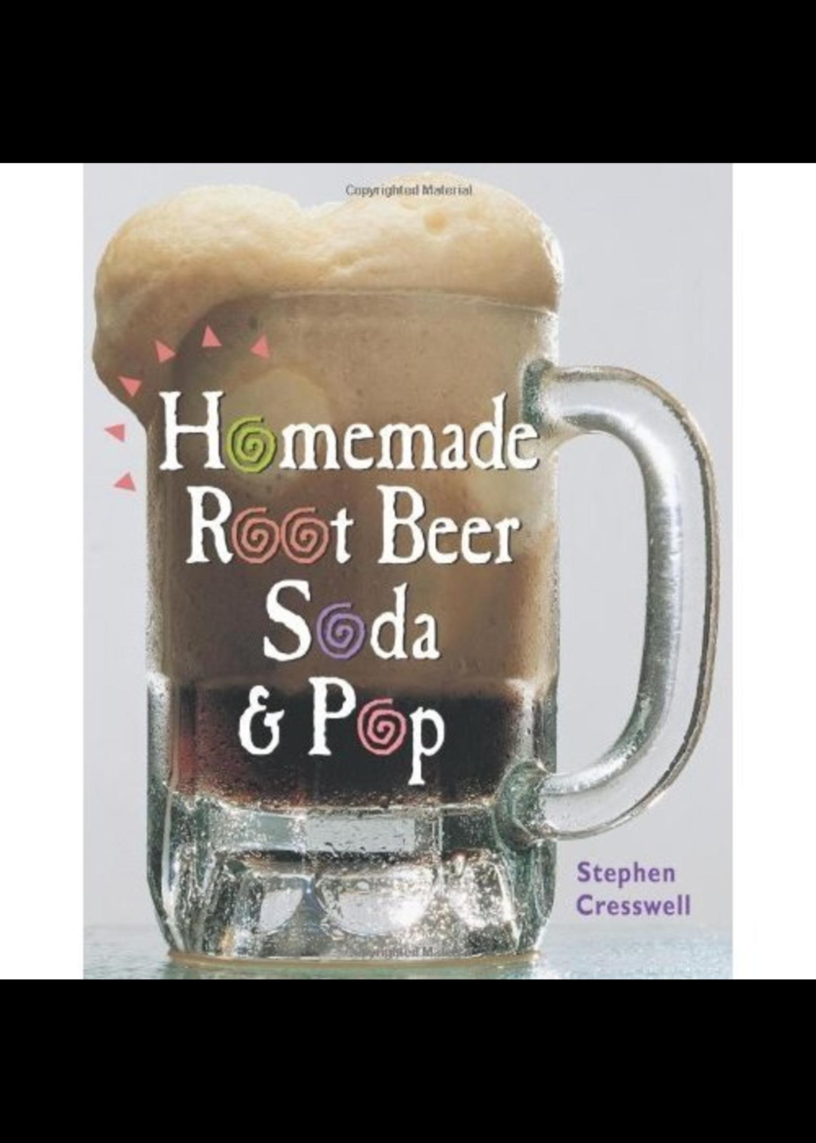 Books Homemade Rootbeer, Soda & Pop (Cresswell)