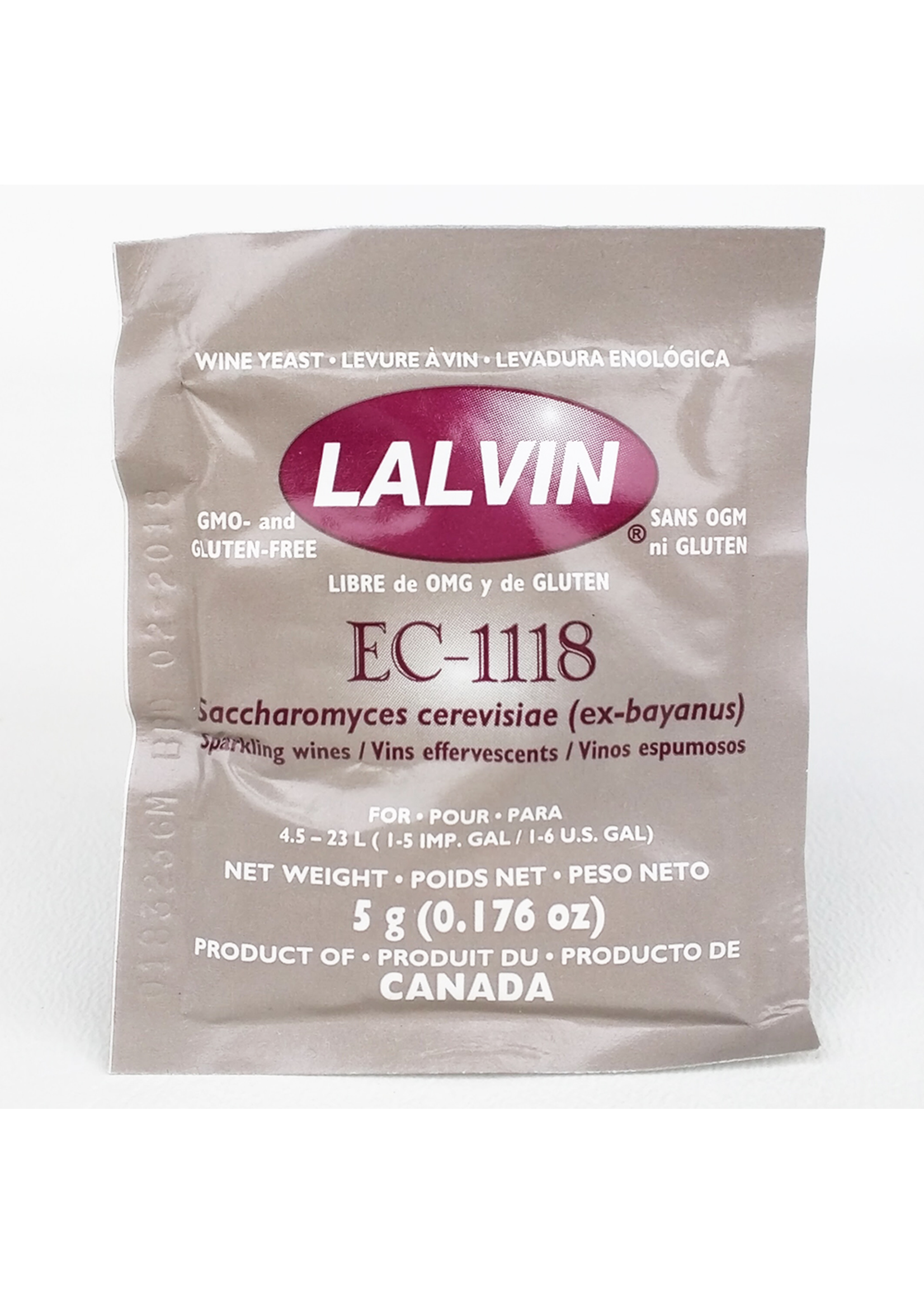 Yeast Lalvin EC-1118 Wine Yeast