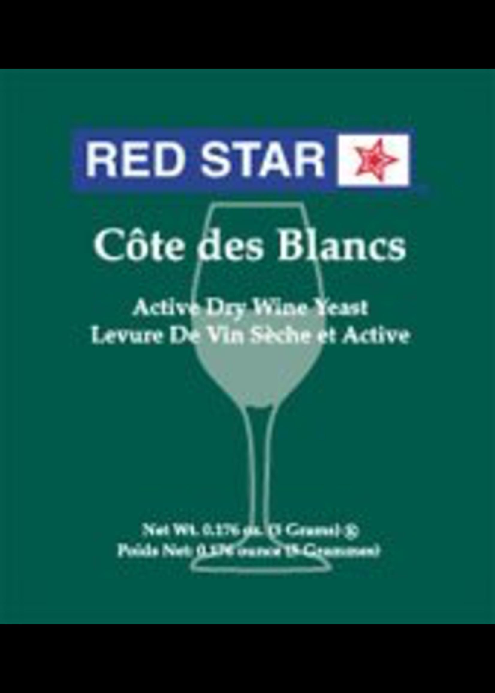 Yeast Red Star Cote Des Blancs Wine Yeast