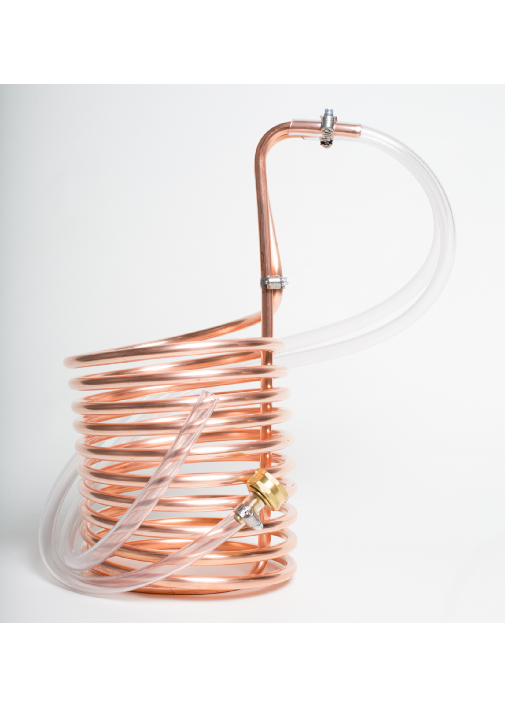 Brewing Immersion Wort Chiller (Brewers Best) - 20' Length, Copper