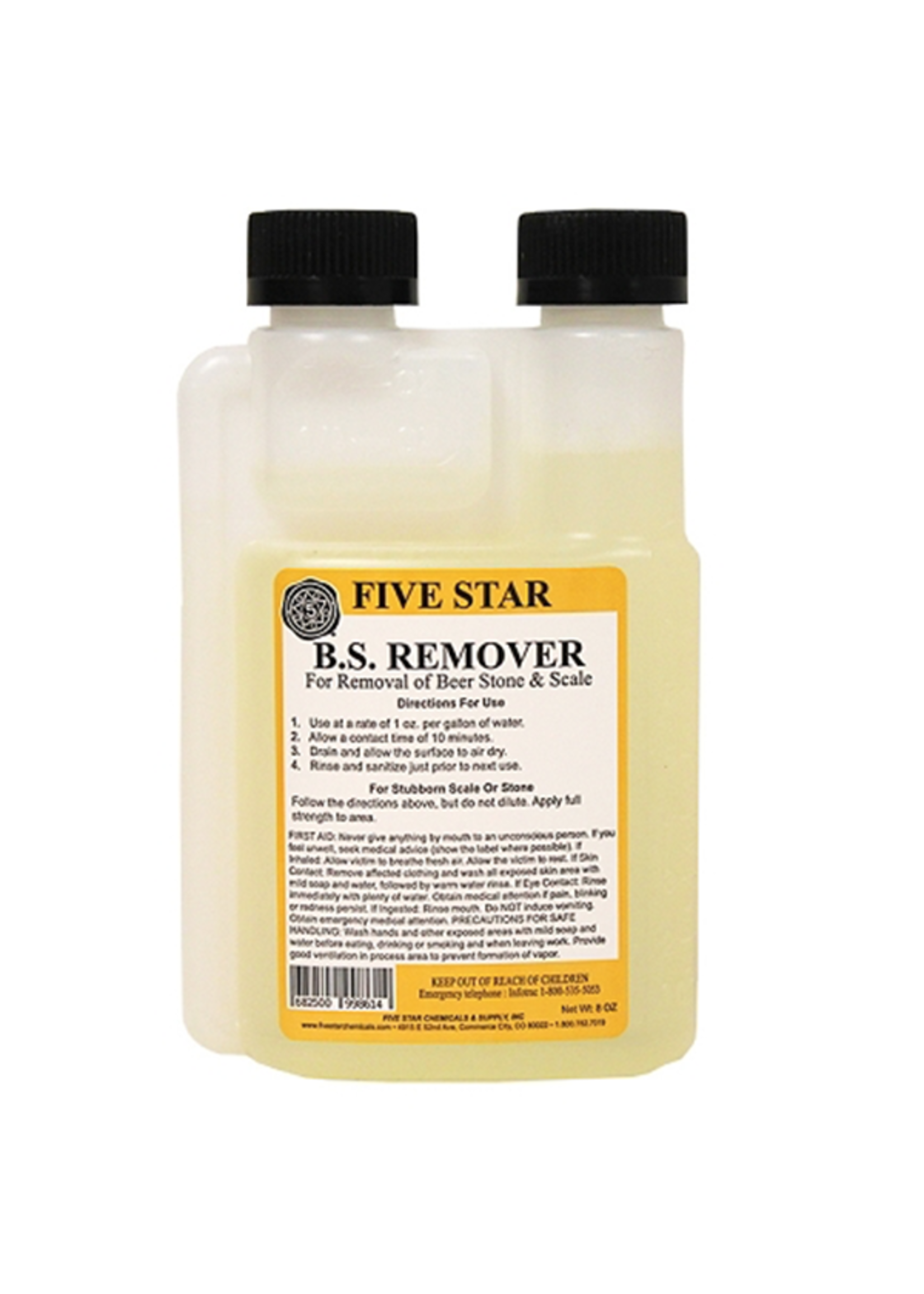 Chemicals Five Star Beer Stone Remover -  8 oz