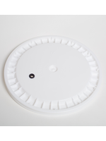 Fermentation Lid for 7.9 Gallon Bucket - Drilled and Grommeted