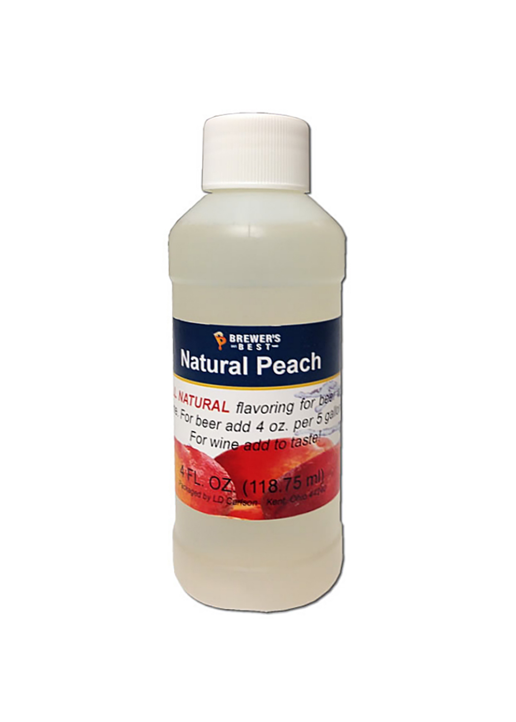 Extracts/Adjuncts Flavoring, Natural - Peach - 4 oz
