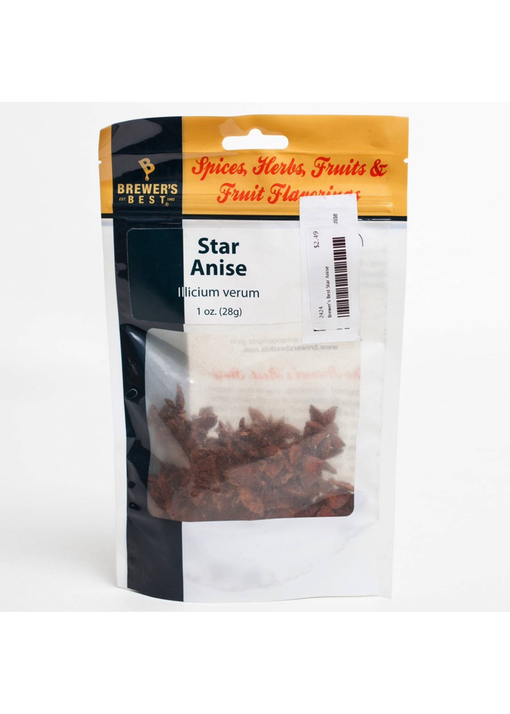 Extracts/Adjuncts Brewer's Best Star Anise - 1 oz