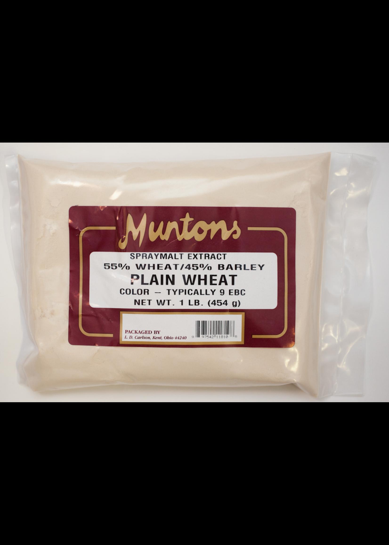 Extracts/Adjuncts Muntons Plain Wheat Spraymalt Dry Malt Extract (DME) - 1 LB