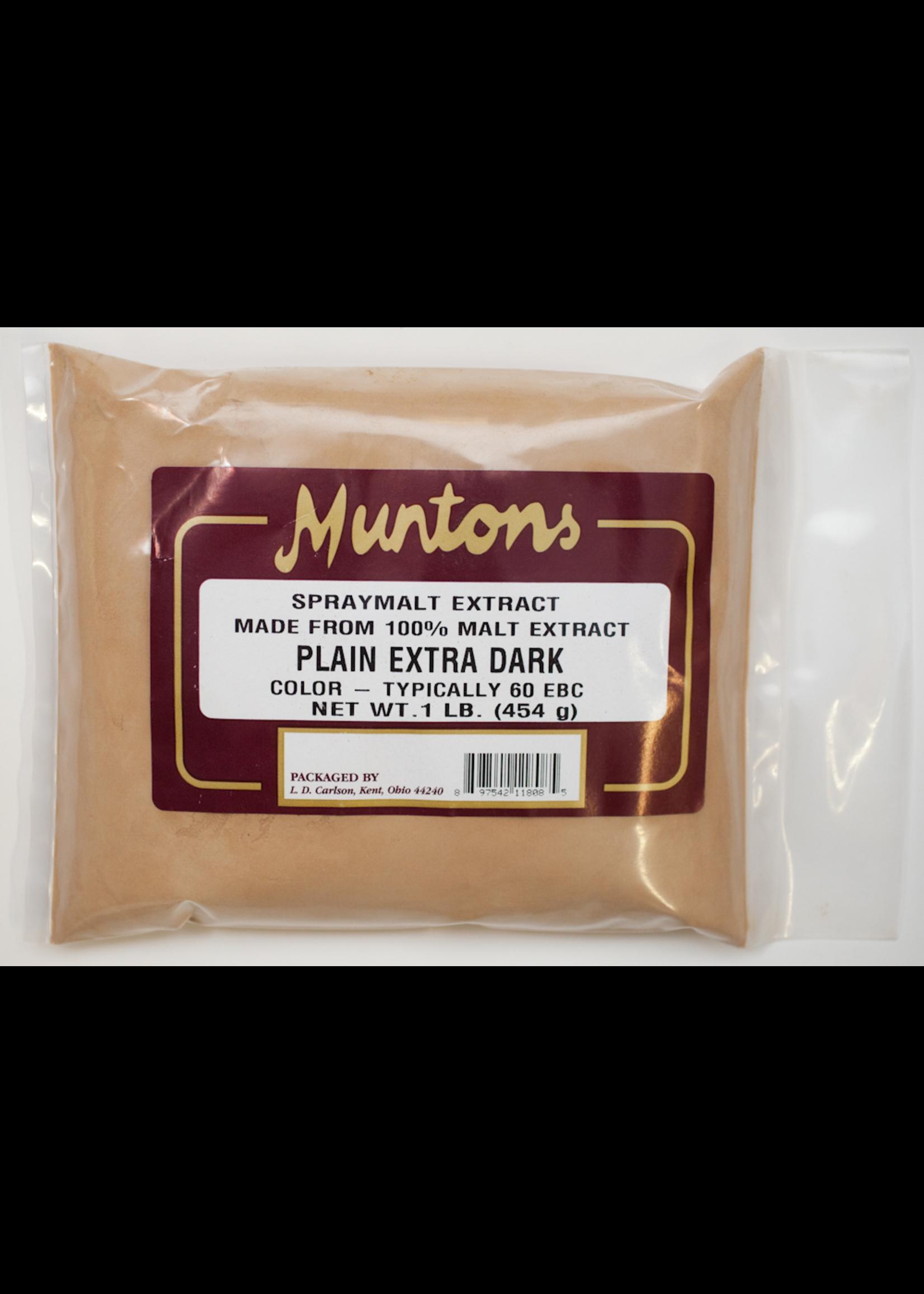 Extracts/Adjuncts Muntons Plain Extra Dark Spraymalt Dry Malt Extract (DME) - 1 LB